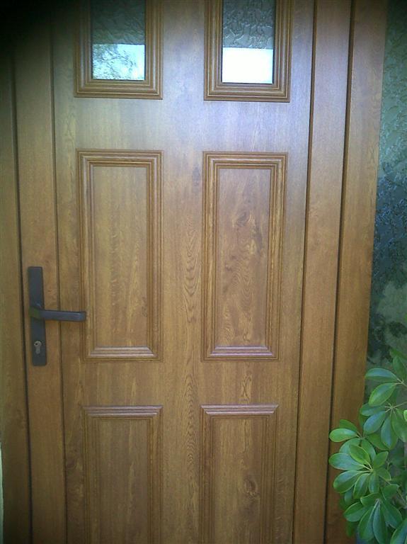 Puertas exteriores de pvc gallery of puertas en pvc with - Puertas de exterior de pvc ...