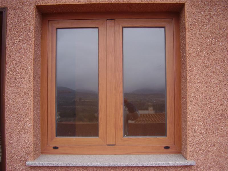 Cerrajer a gil carpinter a de hierro y aluminio vall d for Ventanas de aluminio imitacion madera