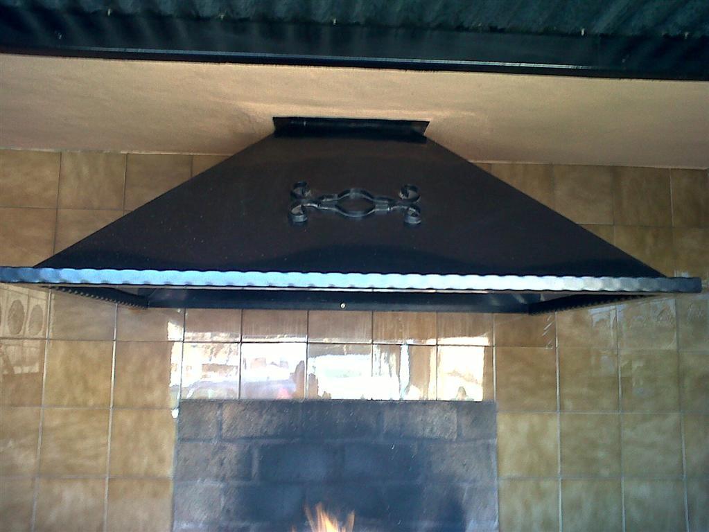 Cerrajer a gil carpinter a de hierro y aluminio vall d - Campanas para barbacoas ...