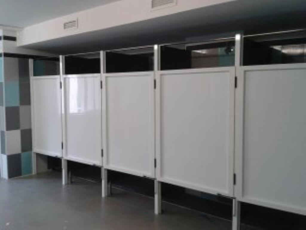 Cabinas De Ducha Para Gimnasios:Mamparas de ducha para gimnasios