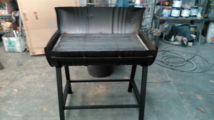 Cerrajer a gil carpinter a de hierro y aluminio vall d - Como hacer barbacoas de obra ...